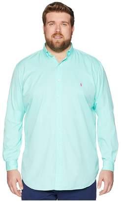 Polo Ralph Lauren Big Tall GD Chino Long Sleeve Sport Shirt Men's Clothing
