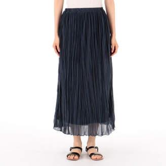 Munich (ミューニック) - Munich pleated polyester jersey skirt