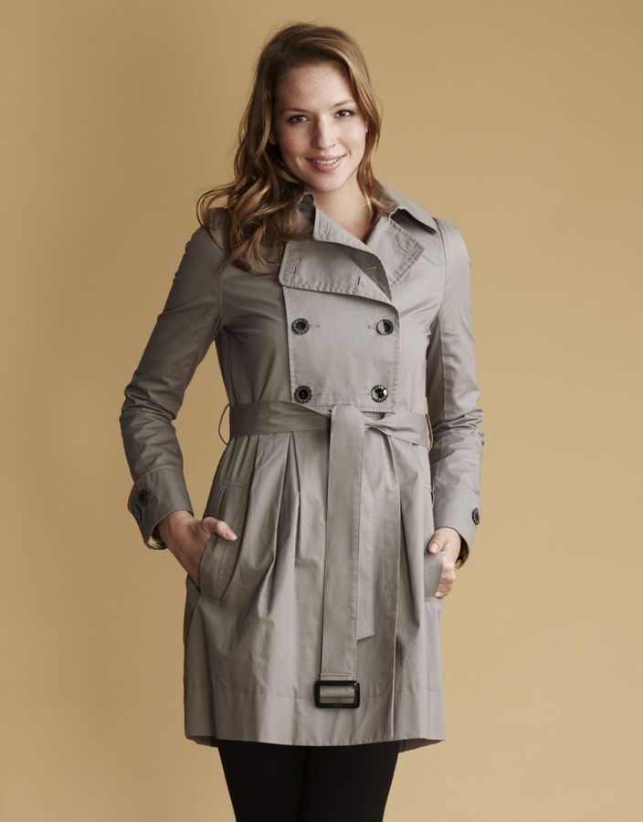 Almost Famous Womenswear trench coat