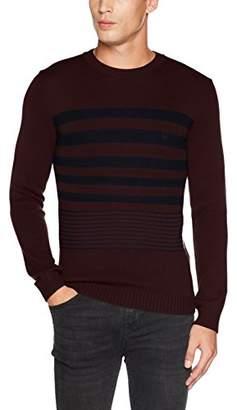 Benetton Men's Longsleeve Sweater Sweatshirt,Medium