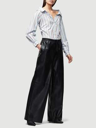 Frame Voluminous Leather Track Pant