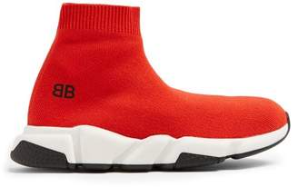Balenciaga Kids - Unisex Speed Trainers - Red