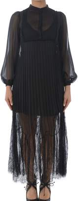 McQ Pleated Long Dress