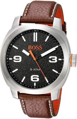 BOSS ORANGE Movado Group Inc - dba Hugo Boss Men's 1513408 CAPE TOWN Analog Display Quartz Brown Watch