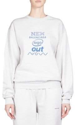 Balenciaga New Logo Out Now Sweater