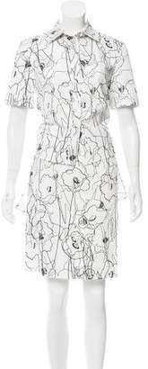 Jason Wu Printed Overlay Dress
