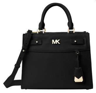 MICHAEL Michael Kors Reagan Leather Satchel Bag