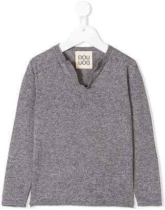 Douuod (ドゥード) - Douuod Kids オープンネック セーター