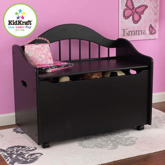 Kid Kraft Limited Edition Personalized Toy Box in Black