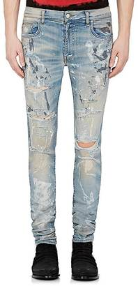 AMIRI Men's Painter Distressed Skinny Jeans $825 thestylecure.com