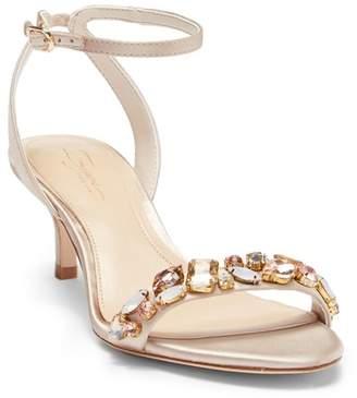 Vince Camuto Imagine Kolo Embellished Kitten Heel Sandal (Women)