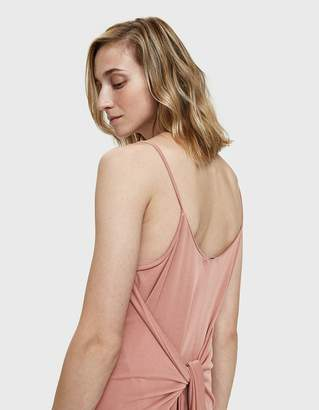 Farrow Sophi Tie-Back Dress