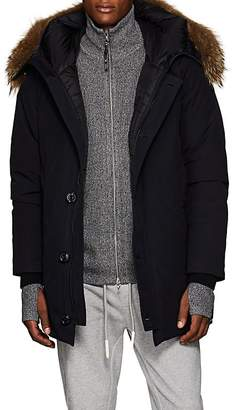 Moncler Men's Polaris Fur-Trimmed Down Parka