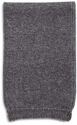 Bloomingdale's The Men's Store at Rib-Trimmed Knit Scarf - 100% Exclusive