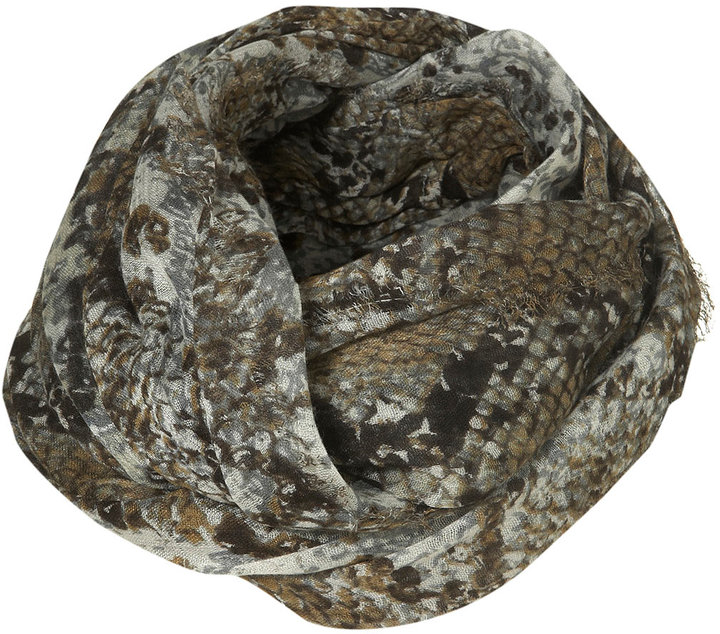 Topshop Natural Snake Snood