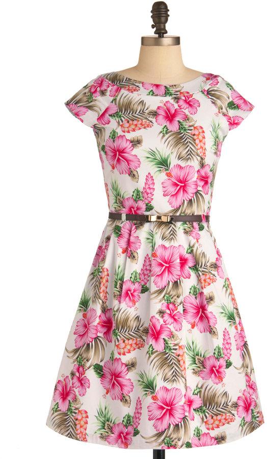 Tropical Travels Dress