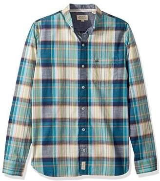 American Heritage Arrow Men's Long Sleeve Plaid Shirt