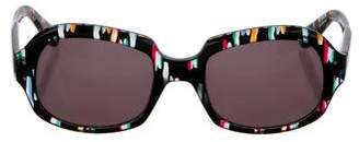 Derek Lam Tinted Square Sunglasses