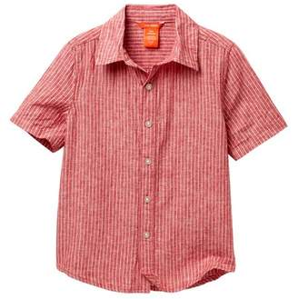 Joe Fresh Short Sleeve Woven Top (Little Boys & Big Boys)