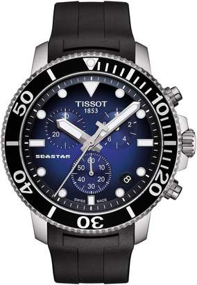 Tissot T-Sport Seastar 1000 Rubber Strap Chronograph, 45mm