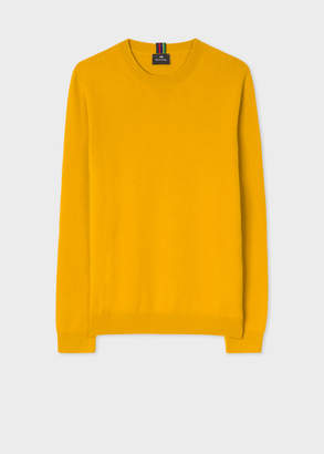 Paul Smith Men's Ochre Lambswool Sweater