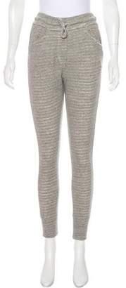Etoile Isabel Marant High-Rise Skinny Sweatpants w/ Tags