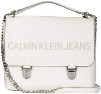 Calvin Klein Jeans Sculpted Flap Handbag