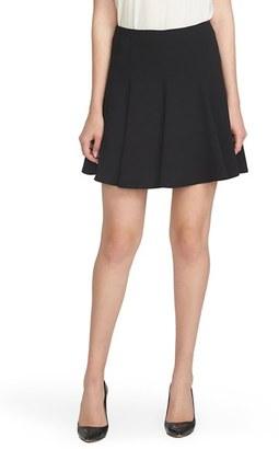 Women's Cece Crepe Flounce Skirt $79 thestylecure.com