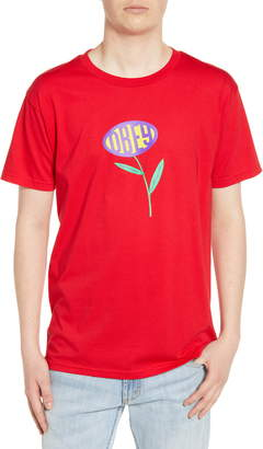 Obey Lily Graphic T-Shirt