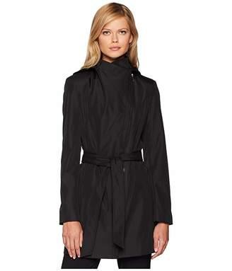Calvin Klein Hooded Raincoat with Belt