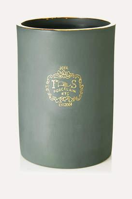Joya Foxglove Scented Candle, 260g - Green