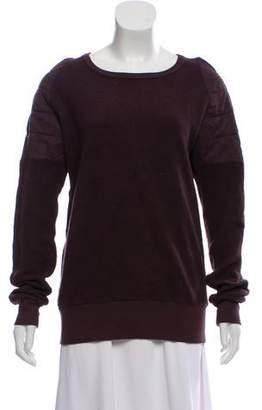 OAK Textured Crew-Neck Sweater