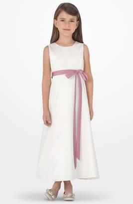 Us Angels Sleeveless Satin Dress