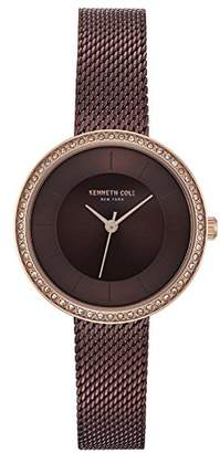 Kenneth Cole Womens Analogue Quartz Watch with Stainless Steel Strap KC50198003