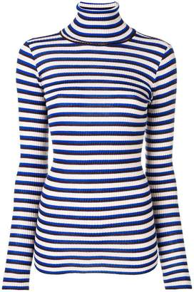 Forte Forte striped slim-fit roll neck sweater