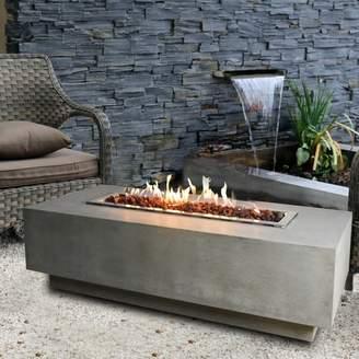 Elementi Granville Concrete Gas Fire Pit Table Fuel Type: Natural Gas