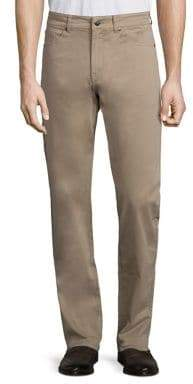Peter Millar Crown Sateen Stretch Five-Pocket Pants