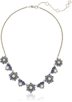 Marchesa Women's Gold/ Multi Frontal Necklace
