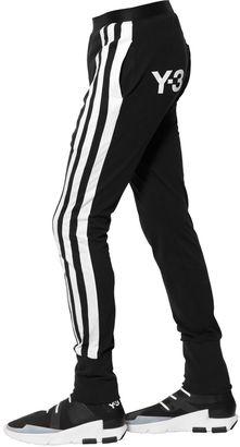 3 Stripes Cotton Jersey Pants $235 thestylecure.com