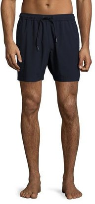 Theory Cosmos Simulate Swim Trunks, Navy $155 thestylecure.com