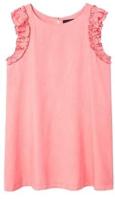 Violeta BY MANGO Ruffled soft dress