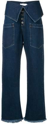 Marques Almeida Marques'almeida 'fisherman' jeans