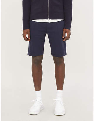 Brunello Cucinelli Piping-detail cotton-jersey shorts