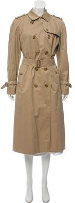 Burberry Wool Lined Trench Coat