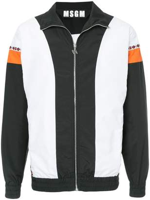 MSGM colour-block sports jacket