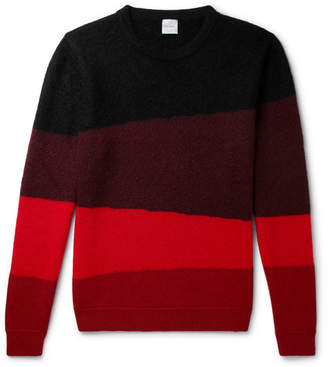Paul Smith Striped Wool-Blend Sweater