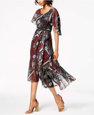 Taylor Printed Midi Dress