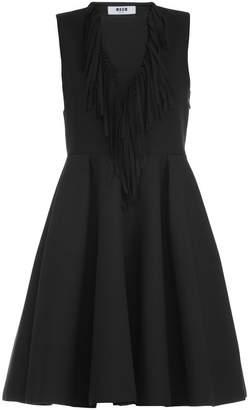 MSGM Plain Color Dress