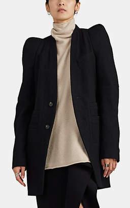 Rick Owens Women's Zionic Wool Melton Jacket - Black