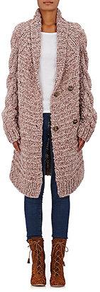 Ulla Johnson Women's Aiko Baby Alpaca Cardigan-PINK $645 thestylecure.com